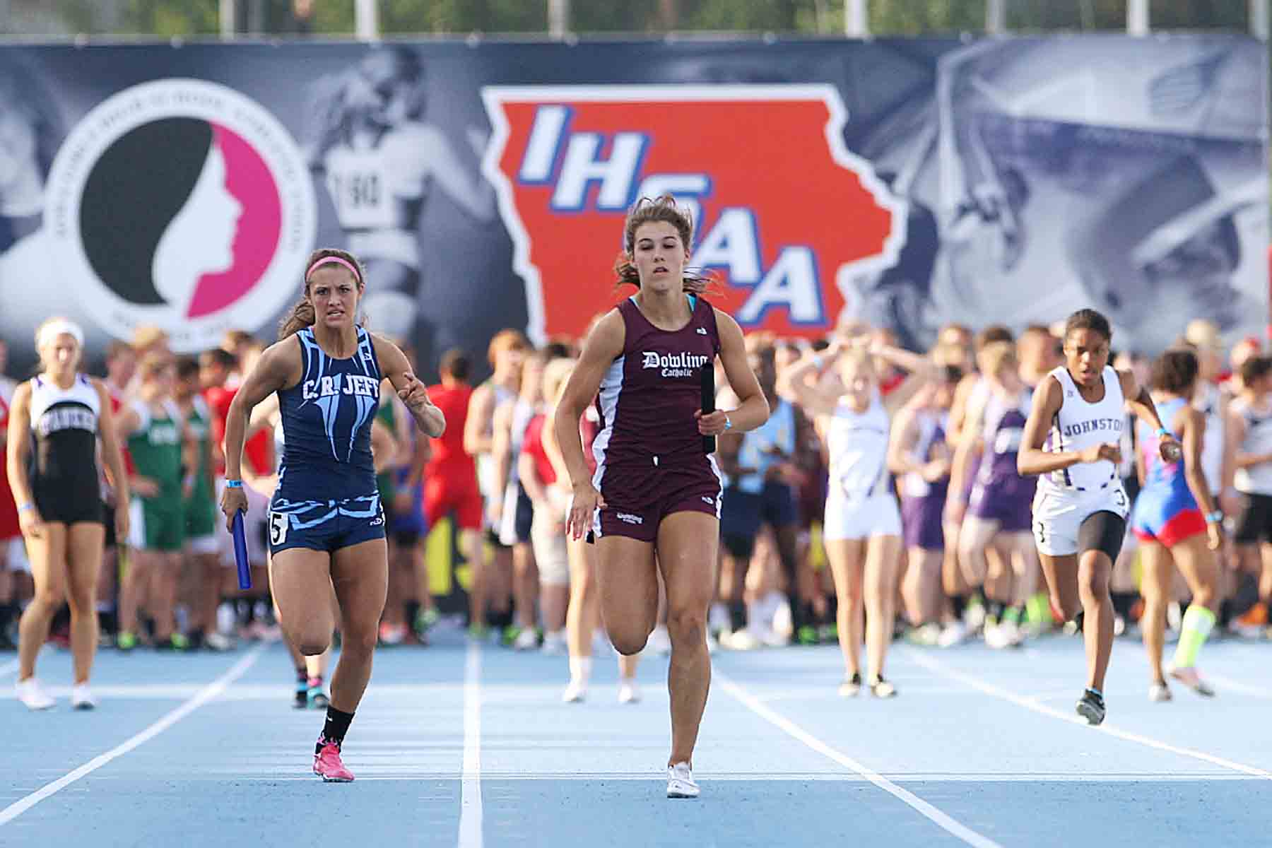 2017 Iowa Final High School Outdoor Track & Field Rankings: Girls Sprints  And Hurdles