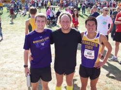 Matt Stocker, Devin Allbaugh and Josh MellmanMinnesota State Men