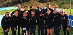 Anna Holdiman with Team USA 2013